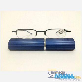 Gafa tubo metal aire azul