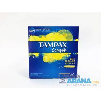 Tampax Compak Regular 20 unidades