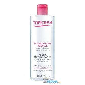 Topicrem Agua Micelar Suave 400ml