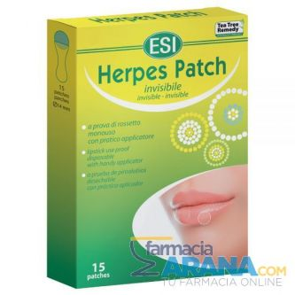 Herpes Patch 15 parches invisibles ESI
