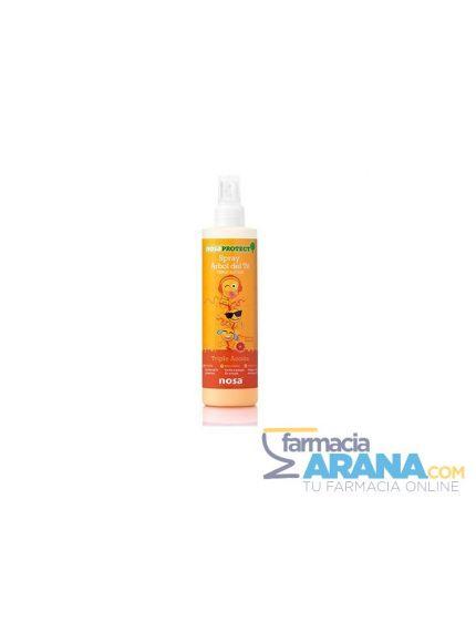 Nosa Spray Desenredante Árbol del Té Aroma a Pomelo TRIPLE ACCIÓN 250ml