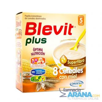 Blevit Plus 8 cereales+miel superfibra 600mg