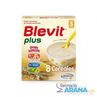 Blevit Plus 8 cereales 600gr + 125g GRATIS