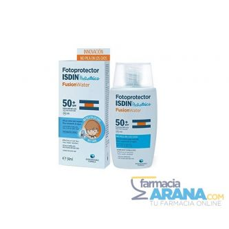 Fotoprotector ISDIN Pediatrics Fusion Water 50 SPF+ 50ml