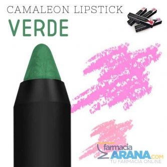 Camaleon Magic Colour Stick Lápiz Labial Verde