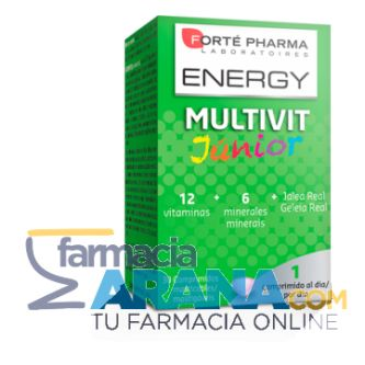 ENERGY MULTIVIT JUNIOR COMPRIMIDOS MASTICABLES 30 COMP