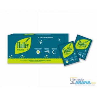 Halley Repelente 10 toallitas monodosis
