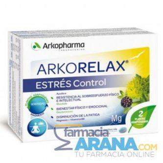 ArkoRelax Estrés Control 30 comp