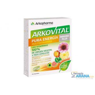 Arkovital Pura Energía Multivitaminas INMUNO PLUS 30 comp.