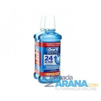 Oral-B Pro-Expert Colutorio Protección Profesional 2x500ml