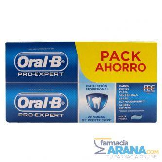 Oral-B Pro-Expert Pasta Dentífrica Protección Profesional 2x100ml