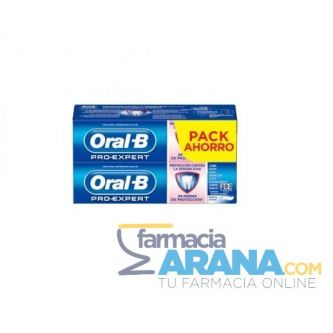 Oral-B Pro-Expert Pasta Dentífrica Sensibilidad 2x(75+25)ml