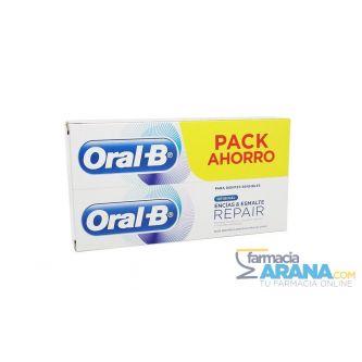 Oral-B Encías & Esmalte REPAIR Pack Ahorro 2 x (75ml+25ml)
