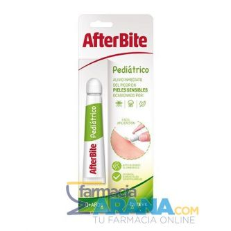 AfterBite Pediátrico Alivio Inmediato Pieles Sensibles 20g