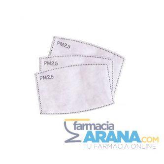 Filtros Carbón Activo Mascarilla UltraMask PM2.5 x 3 unidades