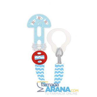 Cadena MAM Clip it! 0+ meses Azul