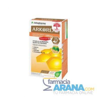 ArkoReal Jalea Real Fresca INTELECTUM Arkopharma 20 Ampollas 15ml