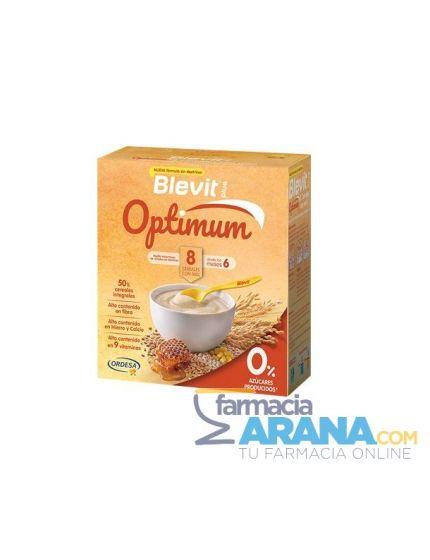 Blevit Plus Optimum 8 Cereales con Miel 0%Azúcares 2x200g