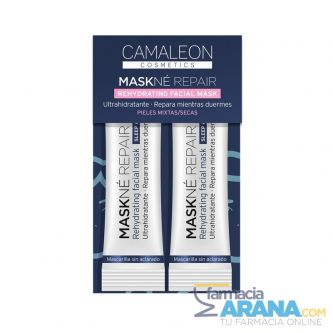 Camaleon Cosmetics MASKNÉ REPAIR Rehydrating Facial Mask Piel Mixta/seca