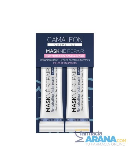 Camaleon Cosmetics MASKNÉ REPAIR Rehydrating Facial Mask Piel Mixta/seca