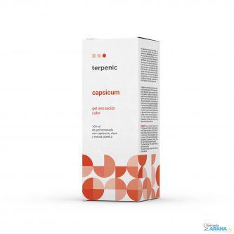 Terpenic Capsicum Gel Sensación de Calor 100ml