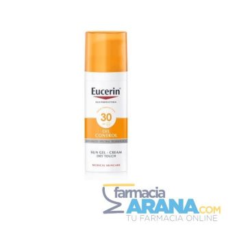 Eucerin Oil Control FPS 30 Sun gel - cream Ultra Ligero Toque Seco 50ml