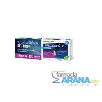 Arkorelax Sueño Forte 8h Cronoliberación 30cáps PACK x2 20% Descuento 2ª unidad